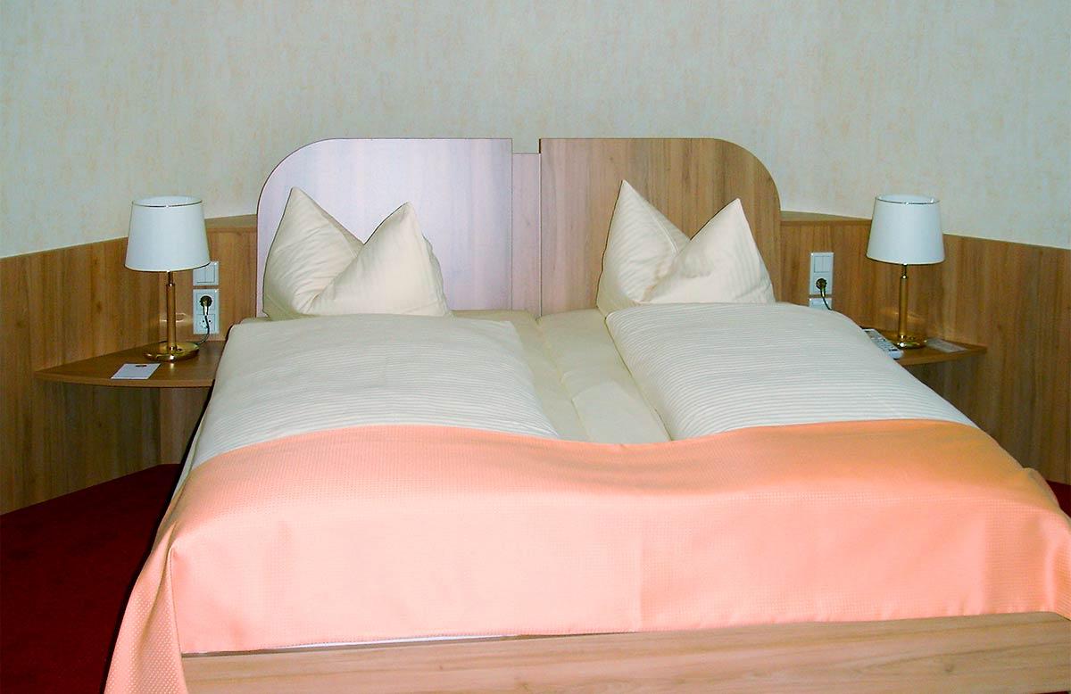 Beispiel Hotelausstattung des Eichsfelder Möbelring